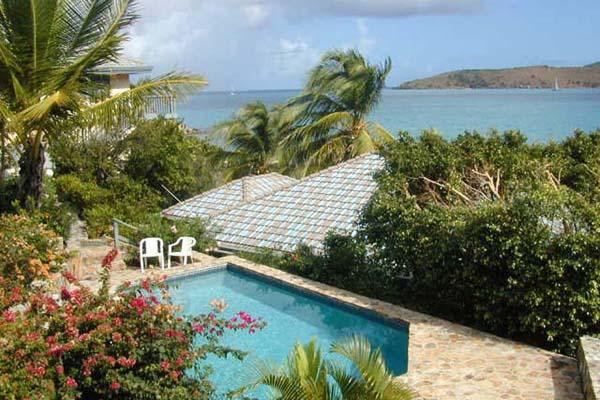 Right on the beach, a few steps from the water's edge. Unique two-story villa. VG LIL - Image 1 - Leverick Bay - rentals