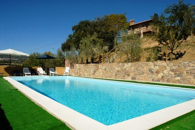 Farmhouse in Southern Tuscany with Pool - Podere Chianciano - Image 1 - Chianciano Terme - rentals