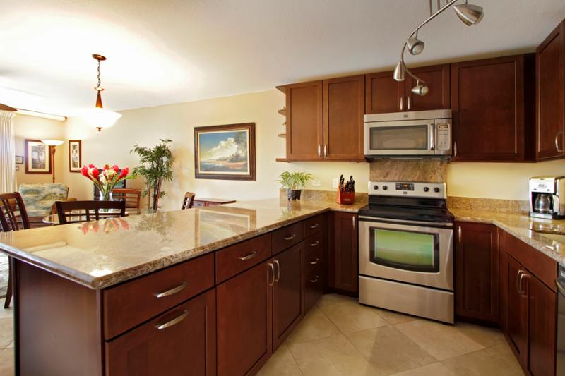 Remodeded Kitchen Unit 3-201 - *Popular Kamaole Sands Beautiful  Upgraded Units**  $159.00 per night ~~~AUG/SEP~~~ Best Value out there~~ - Kihei - rentals