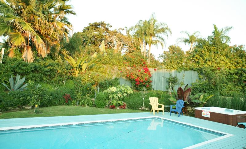 Private Heated Pool & Spa Tropical Oasis Setting - 4BR Home. Private Pool/Spa. Walk to Village/Beach. - Carlsbad - rentals