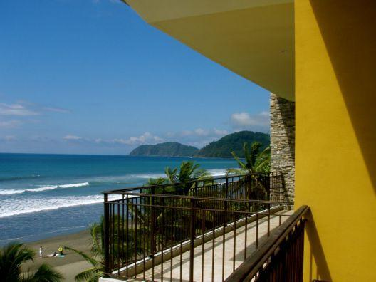 Balcony View from Unit 7D - Vista Las Palmas 7D Oceanfront Corner Unit in Jaco - Jaco - rentals