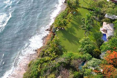 Oceanfront Diosa del Mar, impressive décor, 60 ft pool and maid service - Image 1 - Guanacaste - rentals