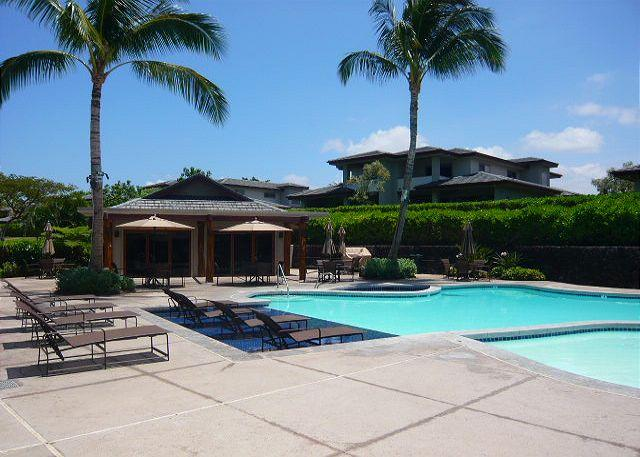 Relax at the pool which is a short distance from this townhouse. - #MLV512 - Mauna Lani Villages 512 - Mauna Lani - rentals