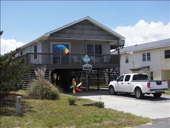 Exterior of home taken from Hallett Street - Sea Dawg 75385 - Kitty Hawk - rentals