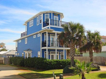 Serendipity by the Sea built in 2004. - Serendipity - 5 Bdm 5 Bth, Private Pool, Gulf View - Destin - rentals