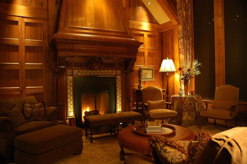 Living Room in the winter time - NEW DAILY RENTAL OPTIONS, www.hassfordgulch.com - Crested Butte - rentals