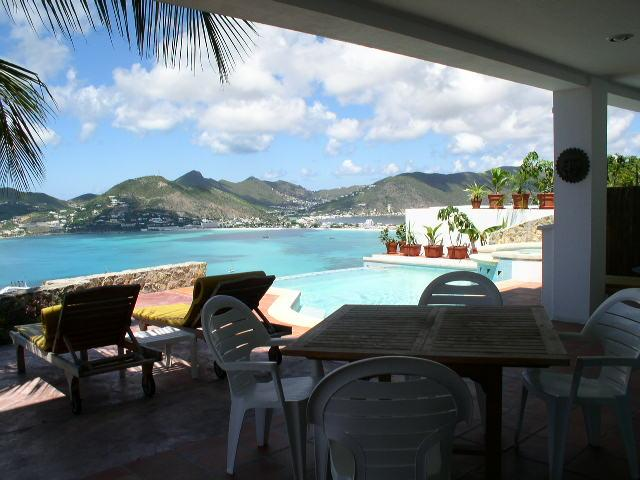 From inside out - VistaRoyale - Private pool and breathtaking  view - Philipsburg - rentals