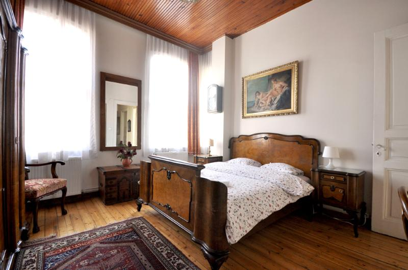 The main double room, the bigger one - Lovely flat with historical view in Istanbul, No.7 - Istanbul - rentals