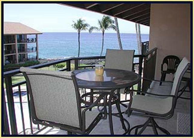 Lanai with Views - 1 bedroom with loft in a wonderful Ocean Front Community - Kailua-Kona - rentals