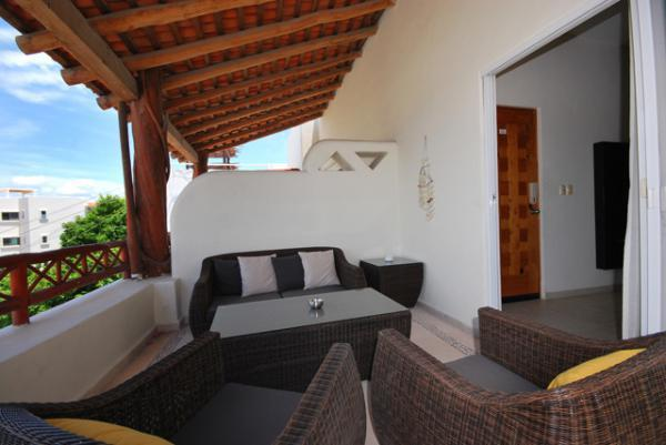 Balcony - A HOLIDAY PENTHOUSE IN PLAYA DEL CARMEN, MEXICO - Playa del Carmen - rentals