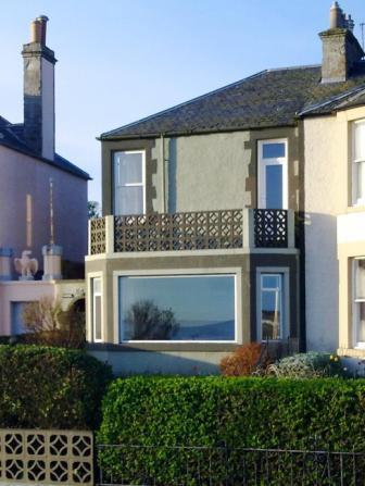 Front of Saheda - Saheda Self Catering - North Berwick - SCOTLAND - North Berwick - rentals