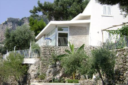 Villa Simona - Modern with private beach, Jacuzzi & outdoor gym - Image 1 - Amalfi - rentals