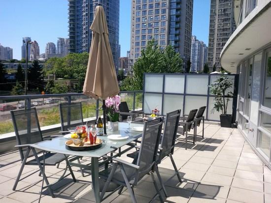 Terrace - Luxury Suite w/ Massive Terrace - Vancouver - rentals