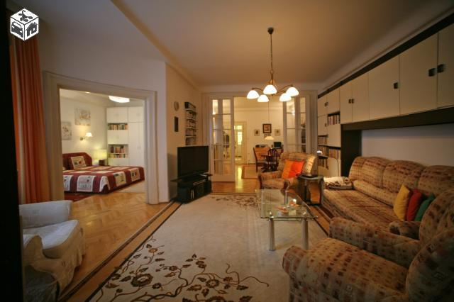 middle room with sofa bed for 2 persons - 3 bedroom/2 bath Central Apt, free GARAGE parking - Budapest - rentals