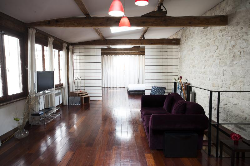 Living Room - Montorgueil - Fiacre - 2nd Arrondissement Bourse - rentals