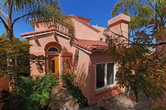 Front of Home - Village Home with Ocean Views - 10% Fall Discount! - La Jolla - rentals
