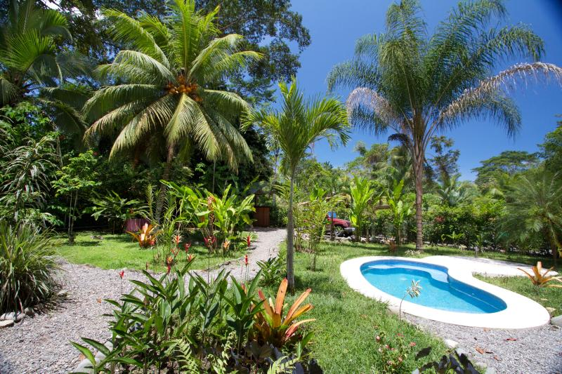 Private Pool in tropical garden  - Casa Carpe Diem - A Paradise on Earth! - Puerto Viejo de Talamanca - rentals