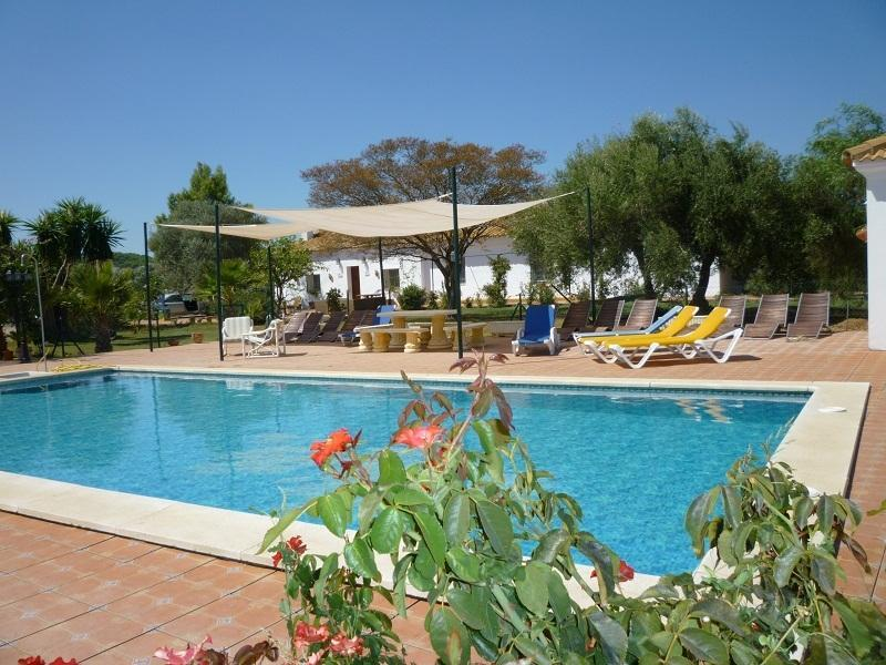Luxury 10 bedroom Cortijo with large private pool - Image 1 - Seville - rentals
