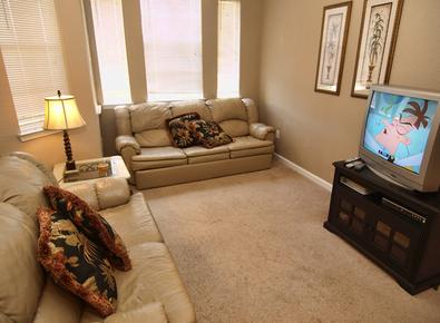 Living Room with Cable TV - Paradise - Davenport - rentals