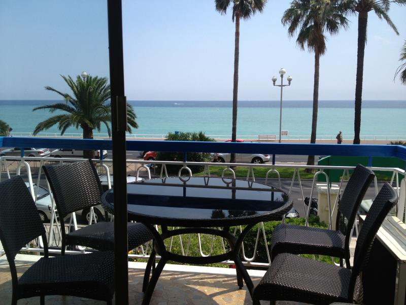 view from terrace  - Rental holiday apartment  on Promenade - Nice ! - Nice - rentals