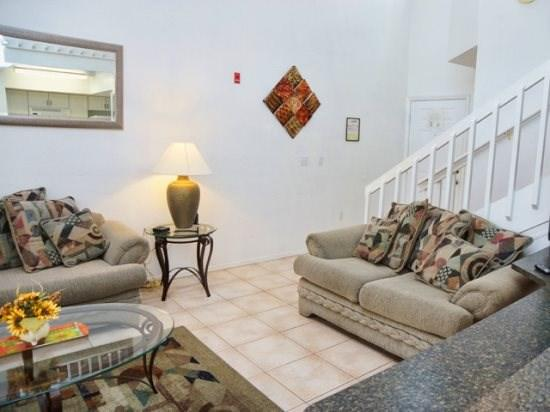Living Area and Family Room in Mango Key - MK2T3156TC-9 2 BR Town Home Near Disney Hot Deal Special - Four Corners - rentals