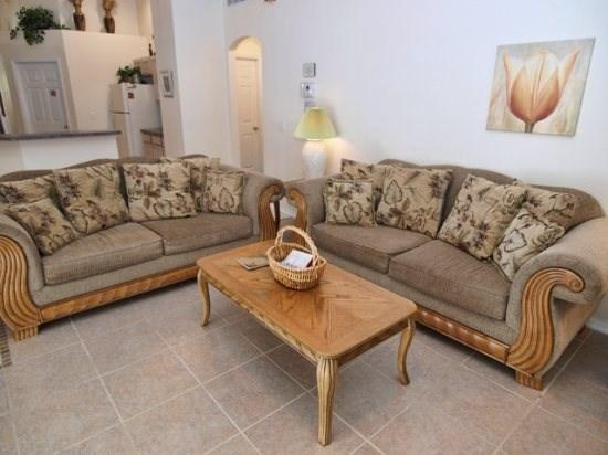Family Room - W4P166GL 4 BR Disney Home Comes with Elegant Amenities - Davenport - rentals