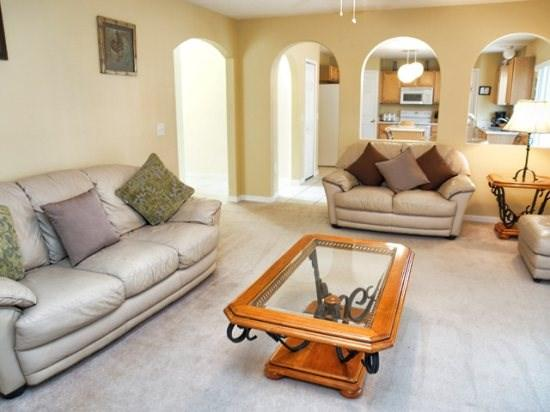 Living Area - LP4P523BA 4BR Affordable Pool Home Near Walt Disney - Davenport - rentals