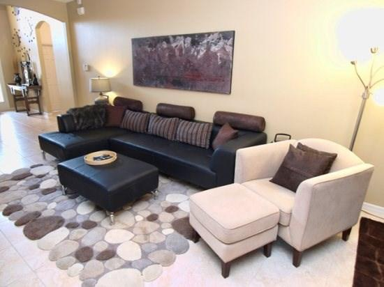 Living Area - CRC4P4704BDS 4 BR Modern Pool Home With A View - Kissimmee - rentals