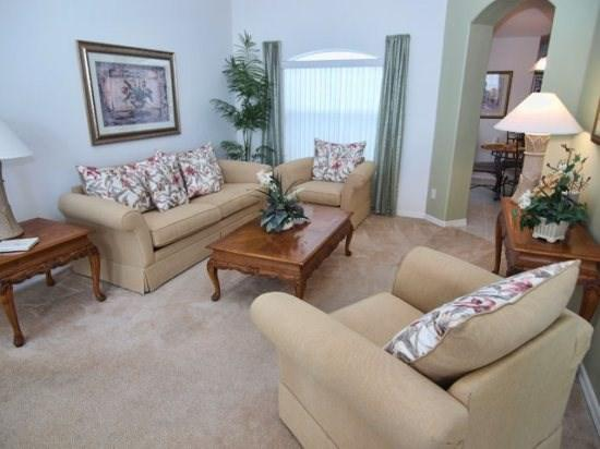 Living Area - OT4P3139IHS 4 BR Ideal Pool Home with Amenities Galore - Clermont - rentals