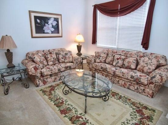 Living Area - WB5P348SRD 5 BR Pool Home with Great Amenities - Davenport - rentals