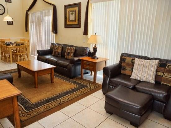 Living Area - CL7P2520CLC 7 BR Vacation Pool Home with Modern Interior - Kissimmee - rentals