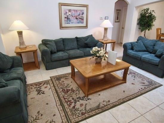 Living Area - OT5P15919HHS 5 BR Cozy Pool Home with a View Near Disney - Clermont - rentals