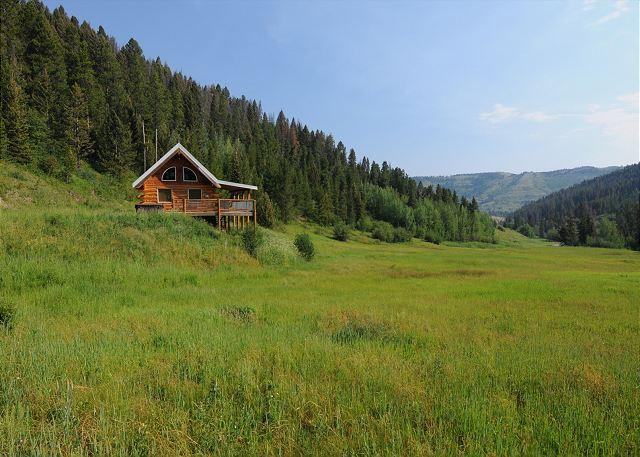 Cozy cabin in a quiet and lush mountain setting - Goose Creek Cabin - Bozeman - rentals