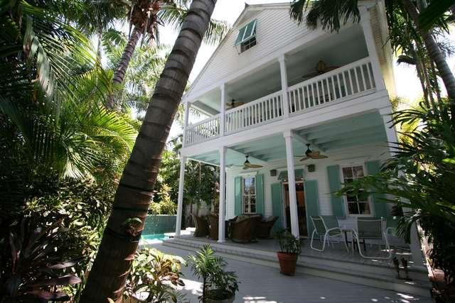 Front of Home - Admiral's Lane - Key West - rentals
