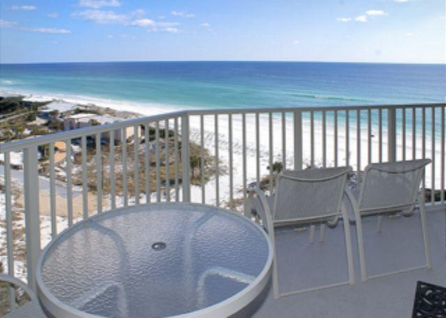 Balcony Gulf View - BEACHFRONT FOR 6! GREAT VIEWS! OPEN 8/23-30! TAKE 10% OFF! - Destin - rentals