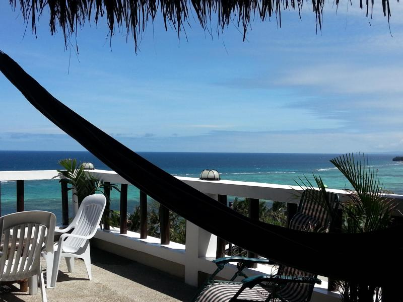 UPSTAIRS APARTMENT: View from the livingroom - Elsas Place 1, Boracay! - Boracay - rentals