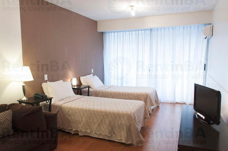 Luxury Building & Posh Address - Deluxe Studio w/ 2 Beds + Sofabed (ID#14) - Image 1 - Buenos Aires - rentals
