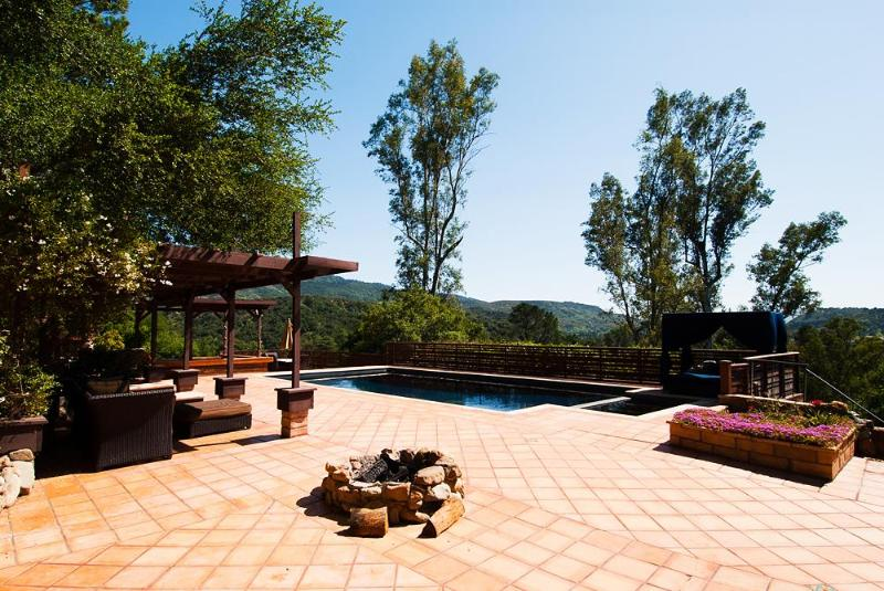 Pool - Copper House - Ojai - rentals