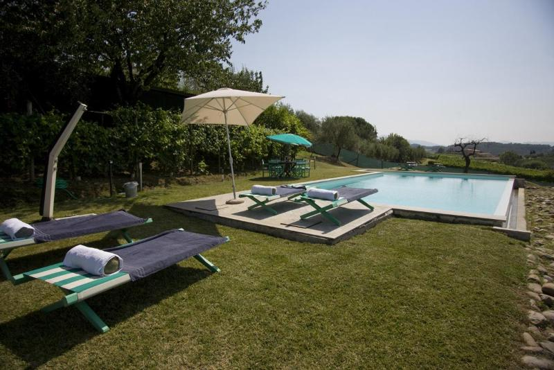Swimming Pool - BOOK within 2014 YOUR FUTURE VACATION GET A 10% OFF!! Pool, AC and Wifi free connection! - Lucca - rentals