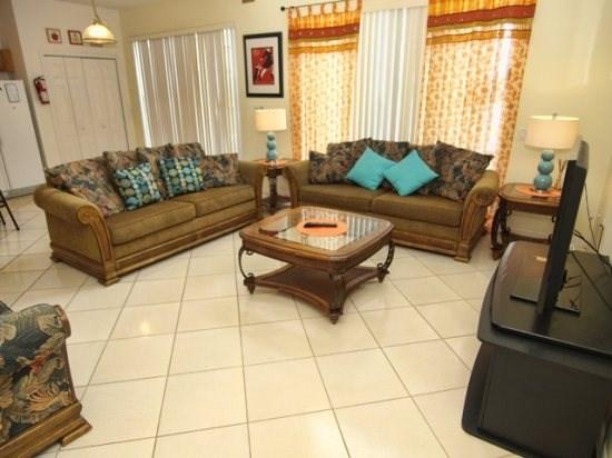 Family Room - LB7P4606FC 7BR Spacious Pool Home with Lake View - Kissimmee - rentals