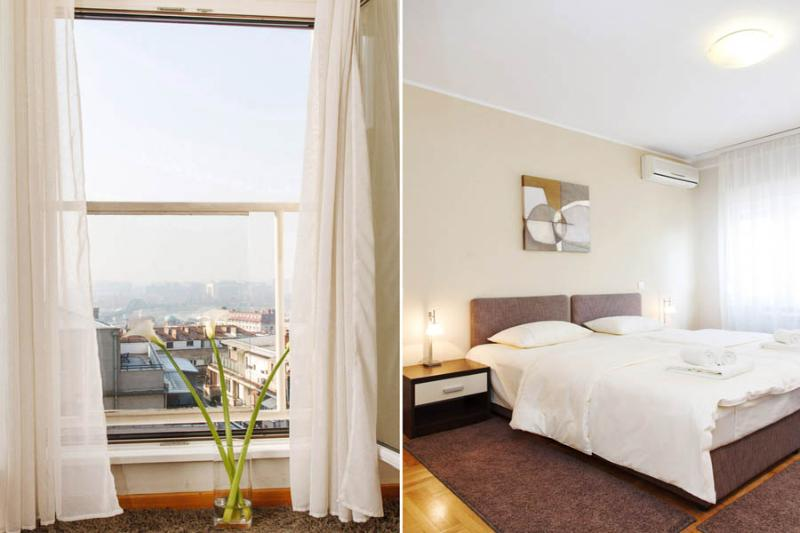 2 Bedroom Apartment MOSCOW with a RIVER VIEW! - Image 1 - Belgrade - rentals