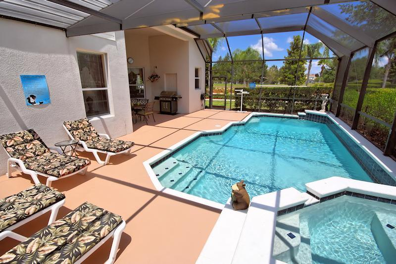 Relax by the pool - Stunning Pool Home only 3.5 miles to Disney Parks. - Orlando - rentals