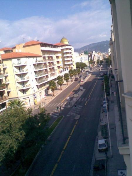 View from the balcony - Nice - Studio on the sea front - Nice - rentals