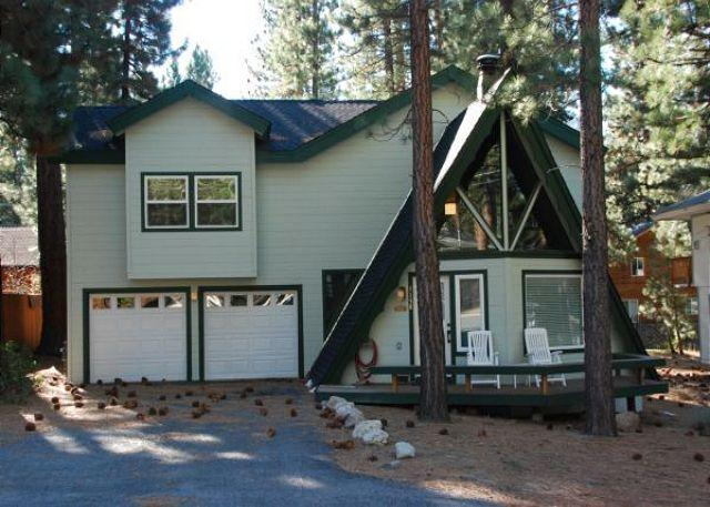 Curb Appeal - Wonderfully remodeled A Frame grows up! - South Lake Tahoe - rentals