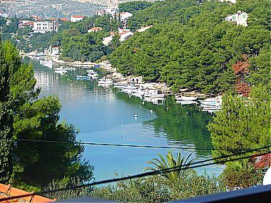 view (house and surroundings) - 01812TROG A1(4+1) - Trogir - Trogir - rentals