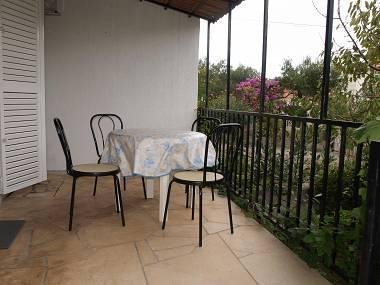 SA2(2+1): covered terrace - 1671  SA2(2+1) - Supetar - Supetar - rentals