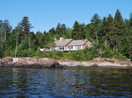 Weeks End from the water - WEEKS END - Town of Camden - Camden - rentals