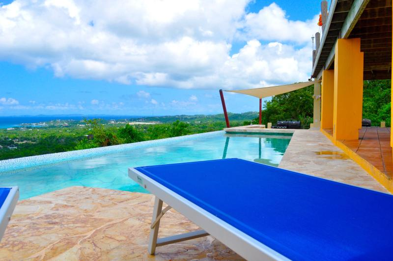PICTURESQUE INFINITY VIEWS - Vieques vacation studio W pool Ocean vIew and Spa - Vieques - rentals