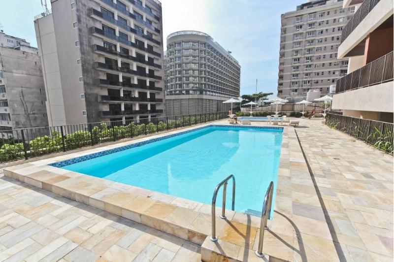 FREE Community Pools (1 for Adults and 1 for Children) - ARPOADOR - 2 Bedrooms Apartment & Veranda - Rio de Janeiro - rentals