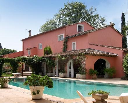 Cote d'Azur House for Family and Friends - La Maison Rose - Image 1 - Chateauneuf de Grasse - rentals